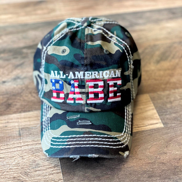 All American Babe Cap