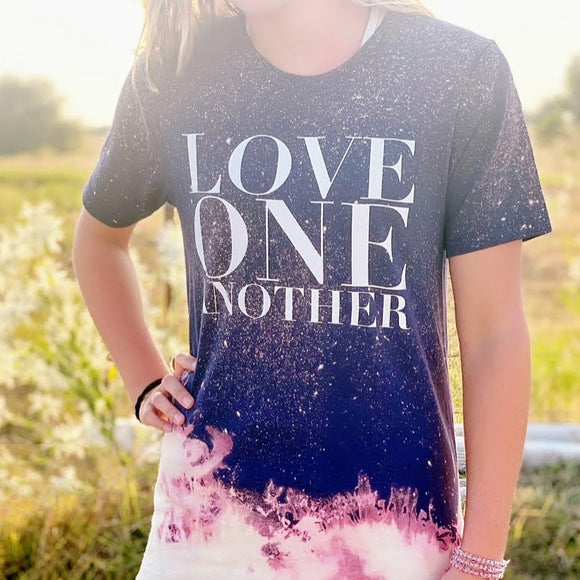 Love One Another | Dip Dye Tee