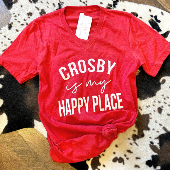 Crosby Is My Happy Place Tee