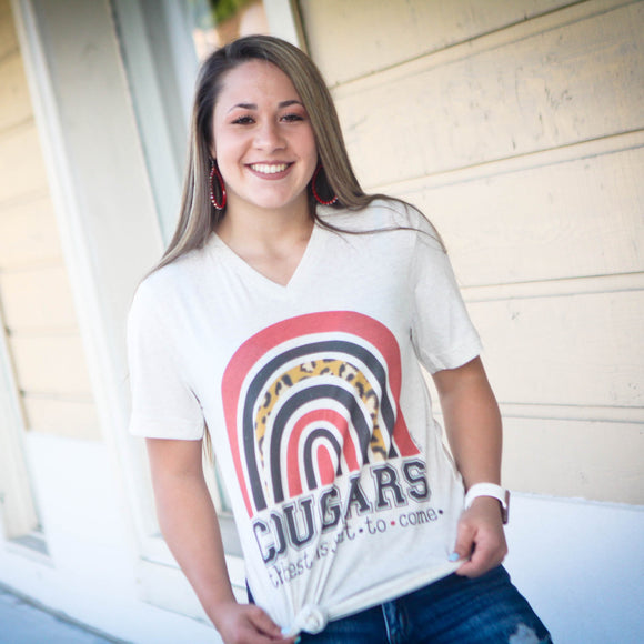 The Best Is Yet To Come | Rainbow Cougars Spirit Tee