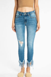 The Frayed Skinny Jeans | KanCan