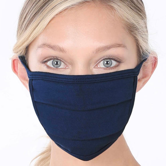 Cotton Mask | Navy