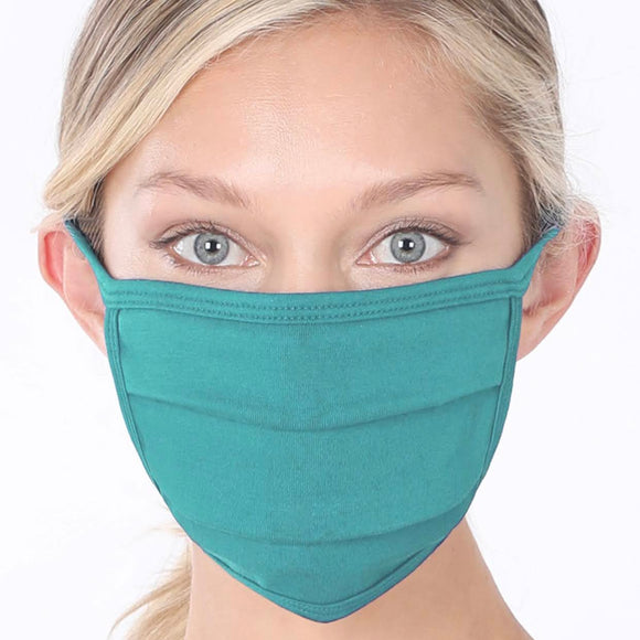 Cotton Mask | Dusty Teal