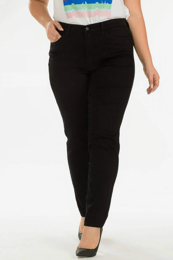 The Black Skinny Jean | CURVY SIZE | KanCan