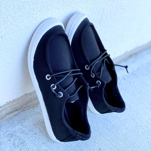 Black Slide In Casual Shoes