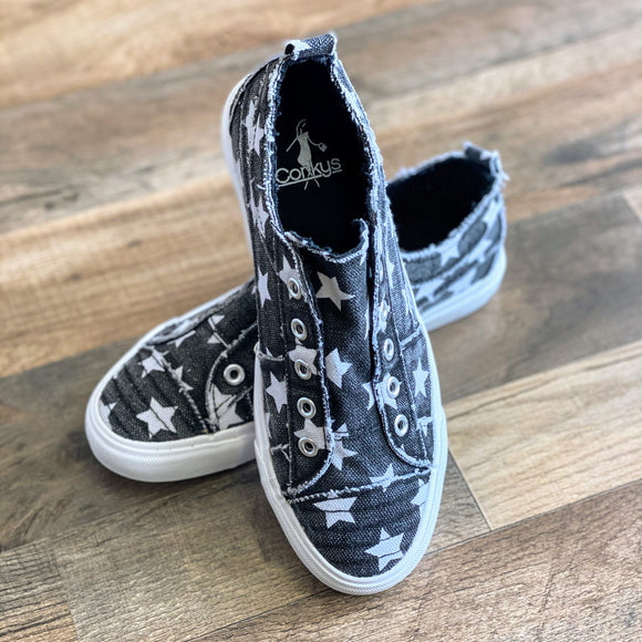 Babalu Sneakers by Corky's | Black Star