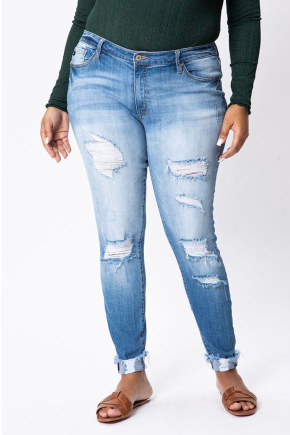 The Jamie Jeans | CURVY SIZE | KanCan