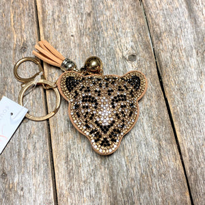 Bling Cougar Key Ring