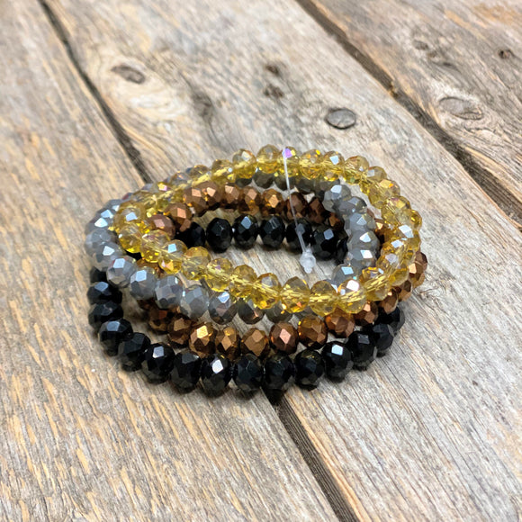 Matte Filigree Earrings | Black