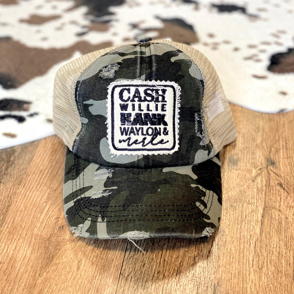 The Boys | Camo | Criss Cross Cap