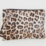 Oversized Clutch | Leopard