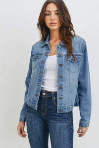 Denim Jacket | Medium Wash