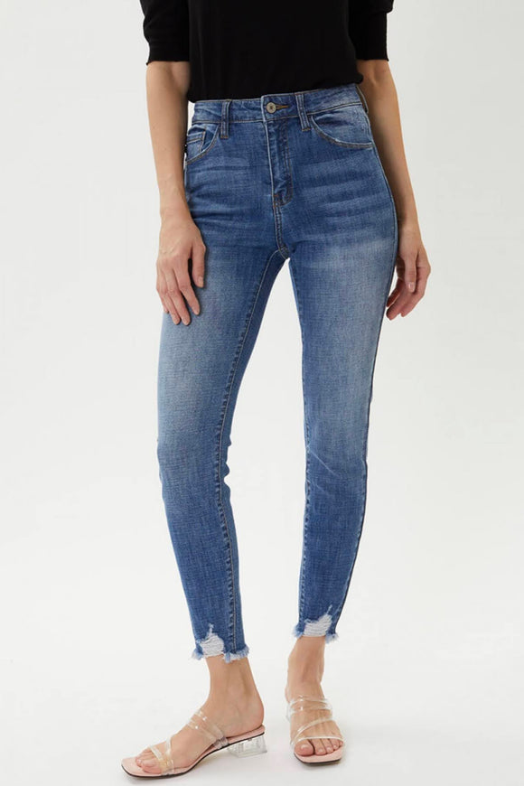 KanCan High Rise Super Skinny Jeans | CURVY SIZE
