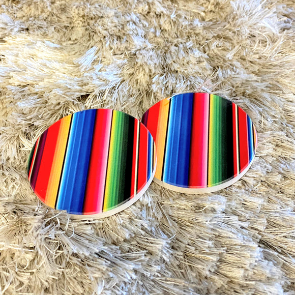 Car Coasters | Serape