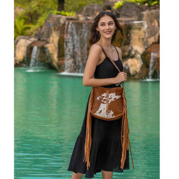 Edgy Cowhide Hairon Bag