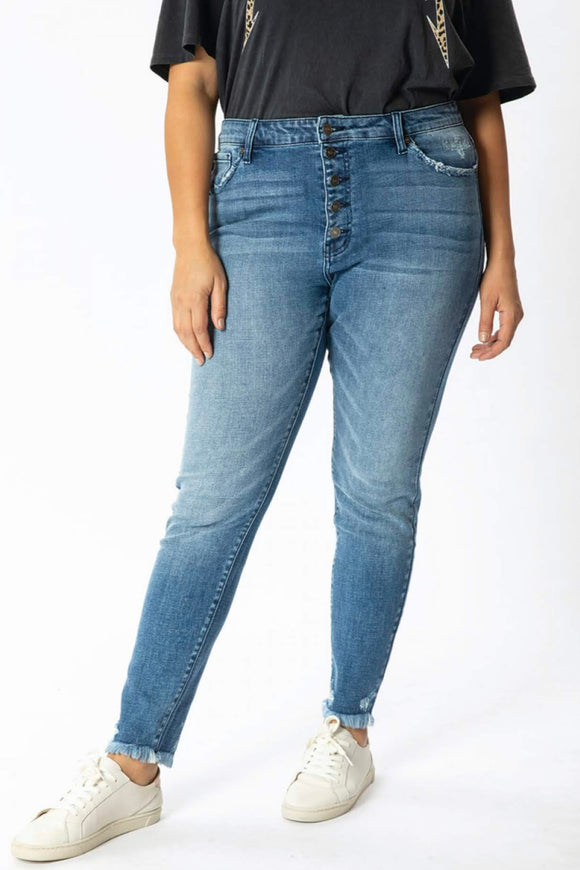 KanCan Super Skinny High Rise Jeans | Curvy Sizes