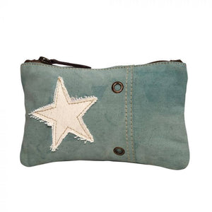 Star On Turquoise Small Bag