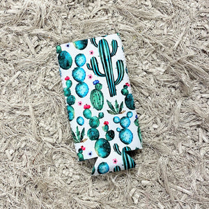 Tall Slim Can Koozie | Cactus