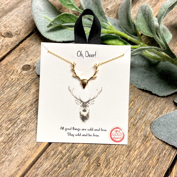 Oh, Deer! | Inspirational Necklace