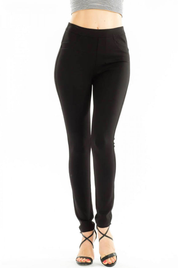 KanCan Black High Rise Soft Jegging