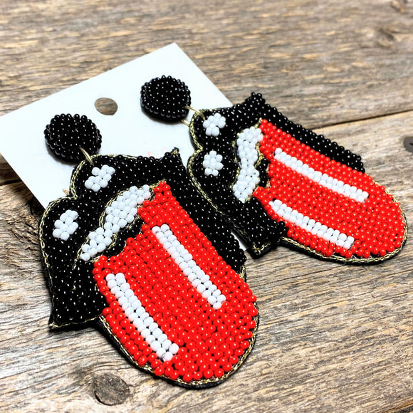 Beaded Rock 'n Roll Earrings