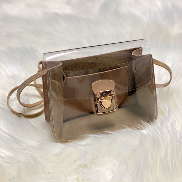 Visible Crossbody Clutch