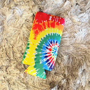 Tall Slim Can Koozie | Tie Dye