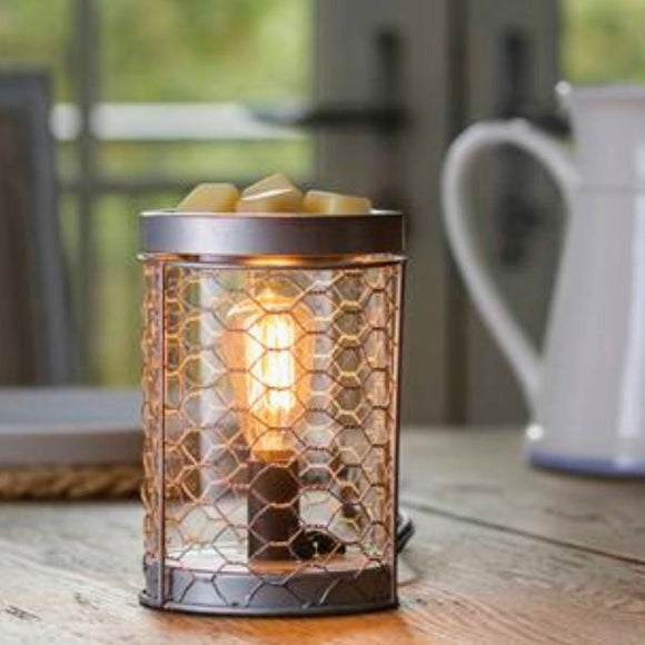 Edison Chicken Wire Fragrance Warmer