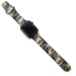 Silicone Watch Band | Camo