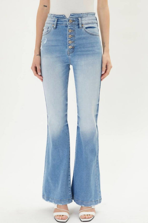 The Maren | Kancan High Rise Flare Jeans
