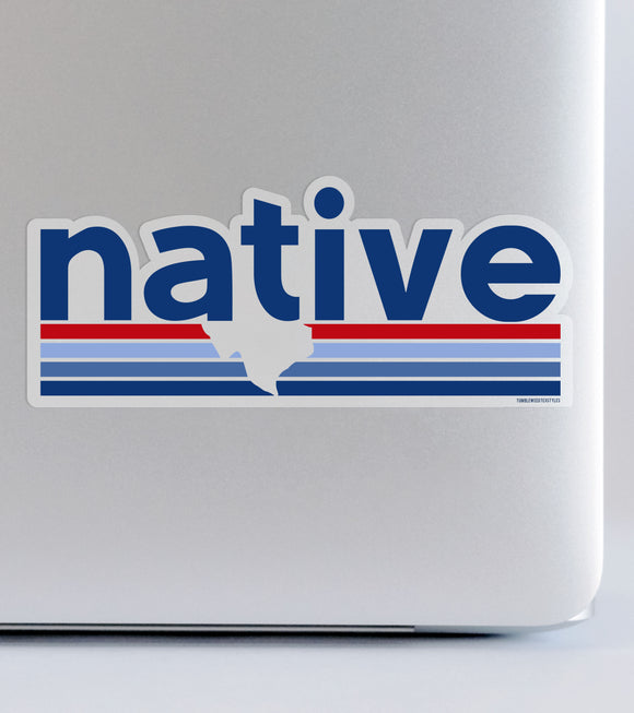 Native Texan | Sticker