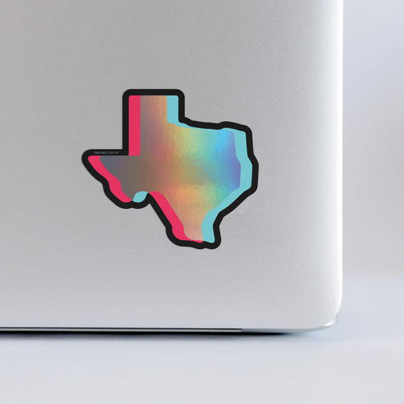 Texas Holographic | Sticker