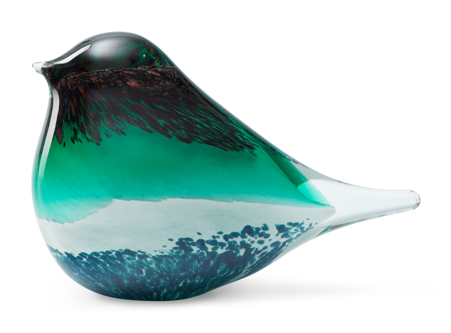 ATLAS GLASS BIRD | BROWN & GREEN