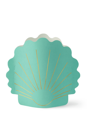 HERA SMALL PAPER VASE | TURQUOISE