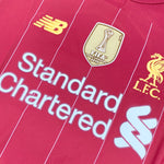 Virgil Van Dijk Liverpool New Balance Match Shirt