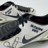 Paul Scholes Nike T90 Laser 1 FA Cup Final 2007 Signed
