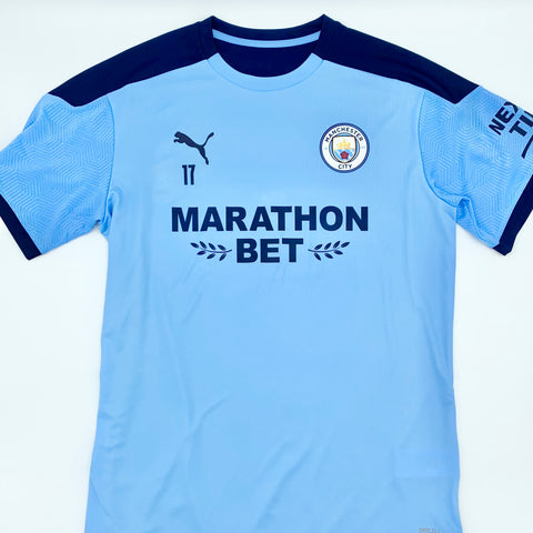 Kevin De Bruyne Manchester City Puma DryCell Training Worn Shirt