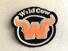WildCow Logo Designed from Vet Wrap by Jack