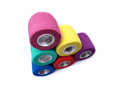 WildCow 2 Inch 18 and 36 Roll Packs (6 Colors)