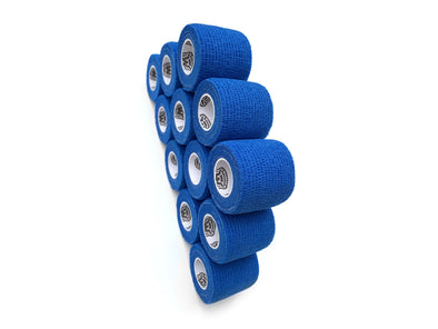 WildCow 2 Inch Blue Vet Wrap 12 Pack