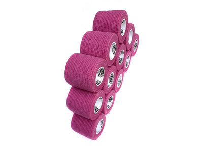 WildCow 2 Inch Pink Vet Wrap 12 Pack