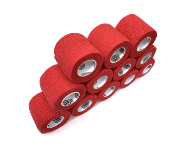 WildCow 2 Inch Red Vet Wrap 12 Pack
