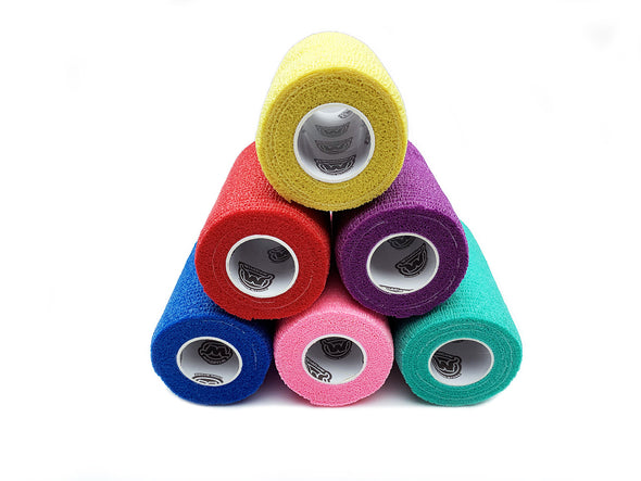 WildCow 4 Inch 18 or 36 Roll Packs (6 Colors)