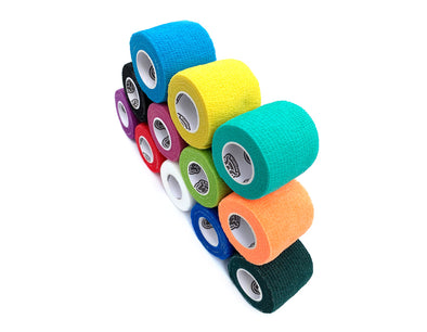 WildCow 2 Inch Multicolored Vet Wrap - 12 Colors