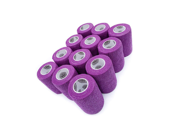 WildCow 3 Inch Purple Vet Wrap - 12 Pack