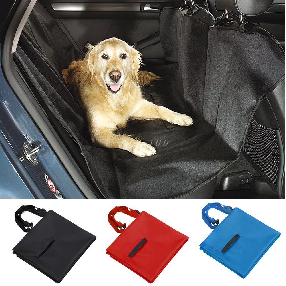 Pet Car Seat Cover for Rear Bench Seat Waterproof