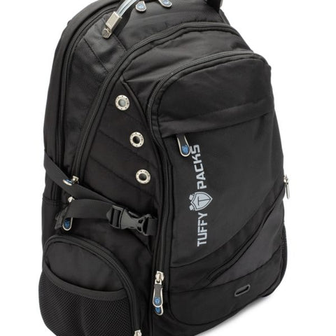 Tuffy-Packs All-In-One Sewn in Ballistic Shield Media Backpack