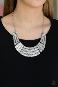 Ready To Pounce - Silver Necklace 2587N