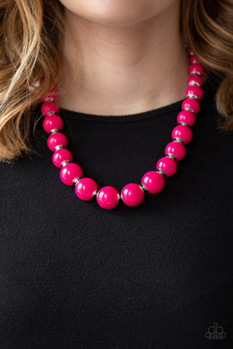 Everyday Eye Candy & Candy Shop Sweetheart - Pink Necklace and Bracelet Set