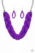 Load image into Gallery viewer, The Great Outback - Purple Necklace 1033N